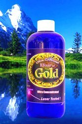 Colloidal Gold Concentrate 16 Oz. 50 ppm by Silver Mountain Minerals