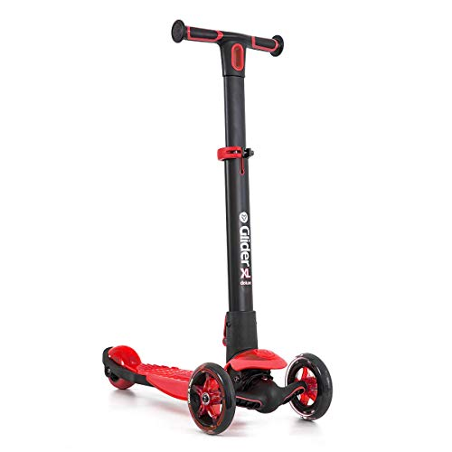 - Yvolution Y Glider XL Deluxe | 3 Wheel Scooter for Kids Age 3-8 Years with Safety Brake Red