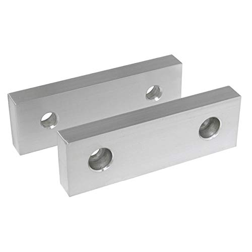 [해외]TTC 6L x 1-12W x 3 H Aluminum Soft Jaws for 6 Vises / TTC 6L x 1-12W x 3 H Aluminum Soft Jaws for 6 Vises