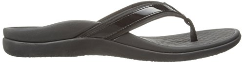 Black In44 Islander Leather Sandals Vionic Womens 7BXxff