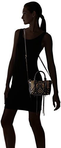 Rebecca Body Micro Minkoff Moto Black Bag Satchel Cross UfUHqxOwr