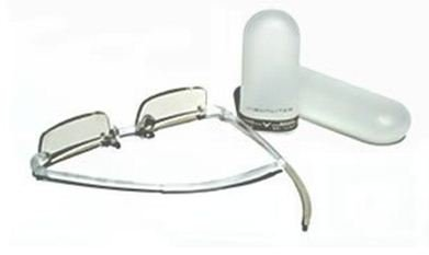 REM Optical Visualite 01 Reading Glasses - Crystal - Strength +1.5