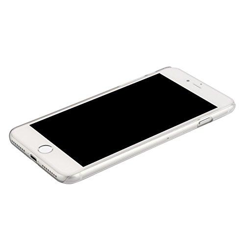 Custodia cover crystal PC hard case retro plastica rigida trasparente per APPLE IPHONE 7 PLUS 5.5 + pellicola protettiva + pannetto pulisci schermo firmato ®DigitalBay