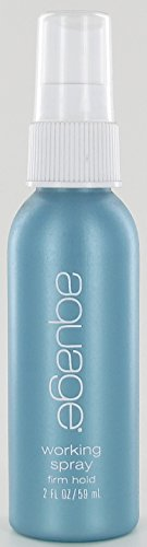 Aquage Working Spray, Travel Size, PACK OF TWO, 2oz by Aquage