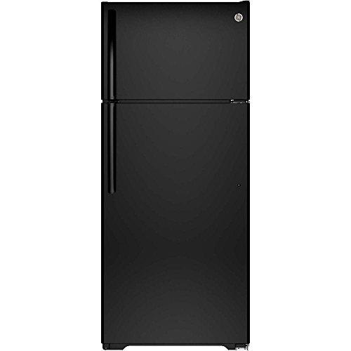 Ge Black Top Freezer Refrigerator - 4