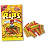 Rips Rainbow Bite Size Sugar Candy, 4 Ounce - 12 per case.