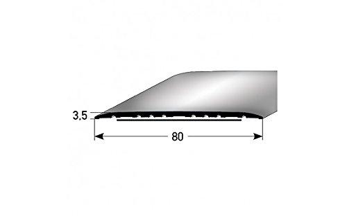 en aluminium, autocollant * * Meilleure vente* * Seuil//rail de transition//80/mm couleur: argent de type 350/
