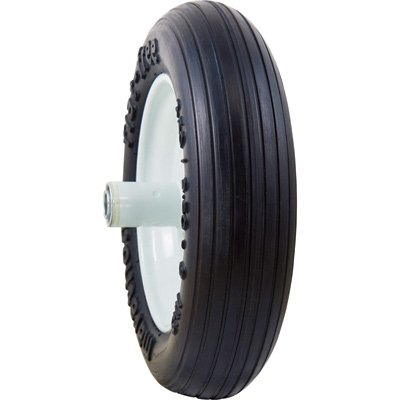 Marathon Tires Flat-Free Wheelbarrow Tire - 3/4in. Bore, 3.50/2.50-8in.