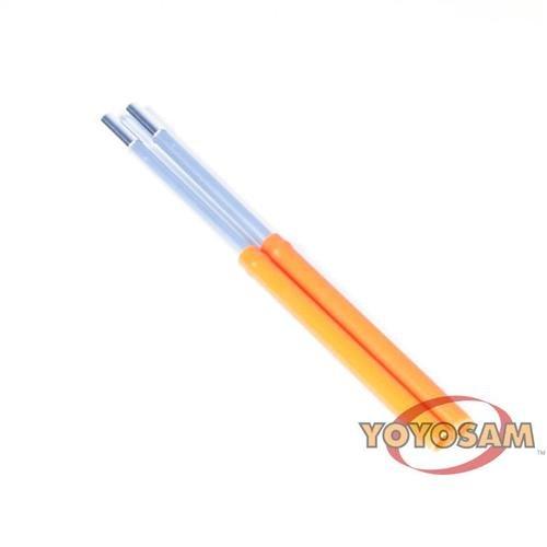 Mister Babache Xtreme Color Diabolo Sticks - Orange