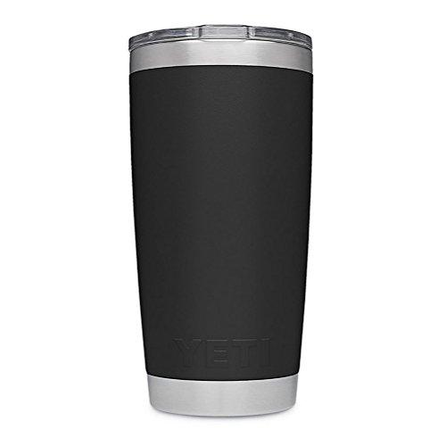 YETI Rambler 20 oz Stainless Steel Vacuum Insulated Tumbler w/MagSlider Lid, Black