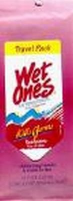 Wet Ones Anti - Bact Travel 15 Ct 60 pcs sku# 906304MA by Playtex