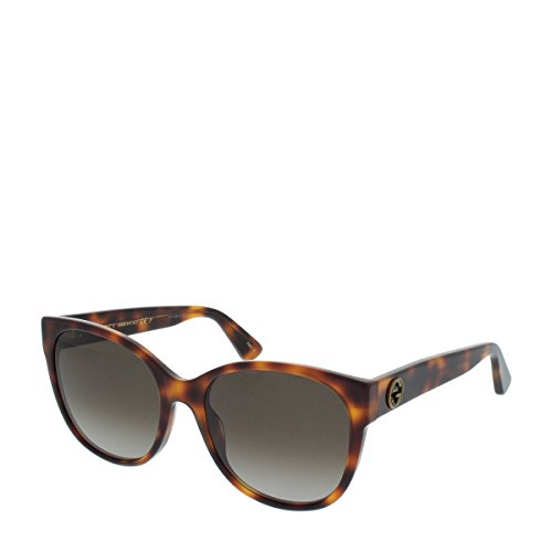 Gucci GG 0097 S- 006 AVANA / BROWN - Gucci Gg0036s Sunglasses