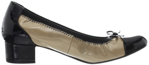 Clarks Ladies Low Heeled Fashion Shoes - Balcony Poem Natural Combi f8dltHI
