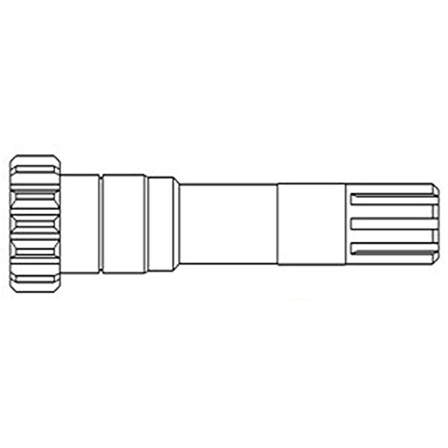 (906919M91 New Massey Ferguson PTO Power Input Pinion Shaft 20 135 150 165)