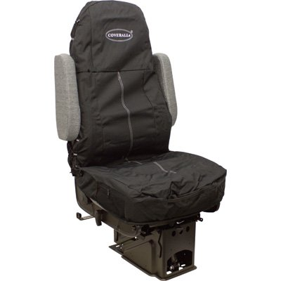- Seats Inc. COVERALLs Truck Seat Cover - Solid Black, Model# 9106