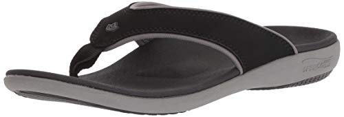 Spenco Women's Yumi Plus Sandal, Onyx 6 Wide US by Spenco (Image #9)