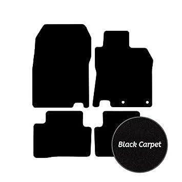 PEUGEOT 208 2012 ONWARDS TAILORED CAR FLOOR MATS CARPET BLACK MAT PINK TRIM