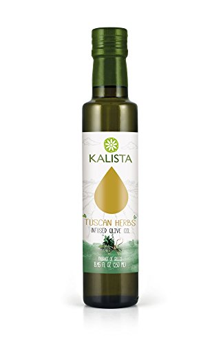 Kalista Infused Olive oil, Tuscan Herbs, 8.45 Fluid Ounce