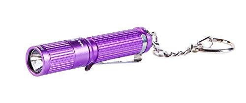 Olight I3EOS-PURPLE Flashlight, 80 lm, 1 x AAA, Purple