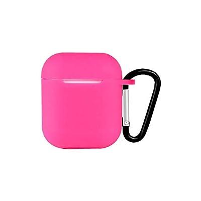 GUYUEXUAN Housse Etui Ecouteurs, Compatible avec Airpods Case Cover 1/2, Silicone Haute Qualité, 16 Styles sont toujours pour vous Haute qualité (Color : Pink) Auto et Moto