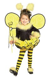 Rubies Bumblee Bee Child Girls Halloween Costume | Small (Halloween Costumes Kids Girls)
