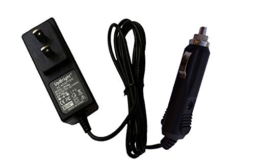Price comparison product image UpBright New Cigarette Lighter Plug 15V AC/DC Adapter Replacement for D.C.12V Stanley JUMPit J509 600 1000 Peak 300A 300 500A 500 Amp Jump Starter Instant Starting 15VDC Power Supply Charger
