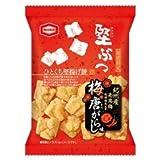亀田製菓 堅ぶつ 梅唐がらし味 52g×10袋