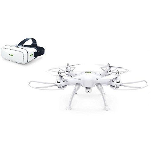 Virtual Reality Drone With HD Camera,Premium Promark P70 VR 3D Goggles & an In Built Wifi Signal
