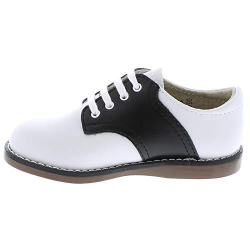 FootMates Unisex Cheer 3 (Infant/Toddler/Little Kid) White/Black Oxford 7.5 Toddler M/W by FOOTMATES (Image #6)