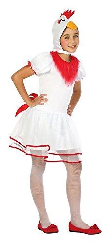 Atosa-24168 Disfraz Gallina, Color Blanco, 5 a 6 años (24168 ...