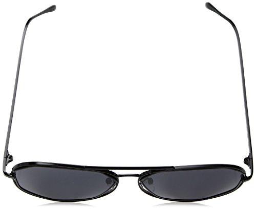 A.J. Morgan Diamond Bar Aviator Sunglasses, Black, 56 mm