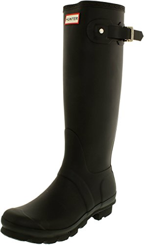 Hunter Women's Original Tall Wellington Boots, Black - 10 B(M) US by Hunter