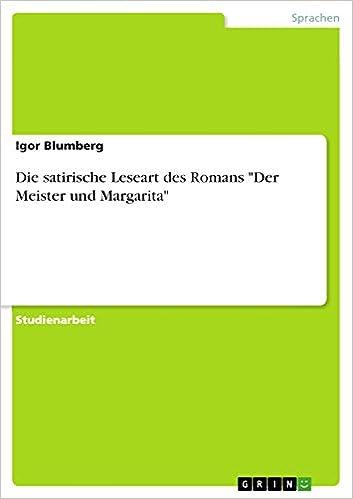 Der Meister Und Margarita Ebook