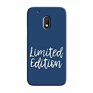 Cover It Up - Limited Edition Blue Moto G4 Play Hard Case