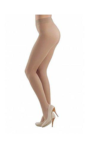Conte elegant Women's Classic Sheer Pantyhose Tights Prestige 20 denier - Nude (Natural), Small