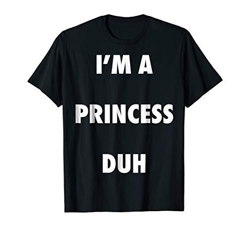 Easy Halloween Princess Costume Shirt for Men Women Kids -