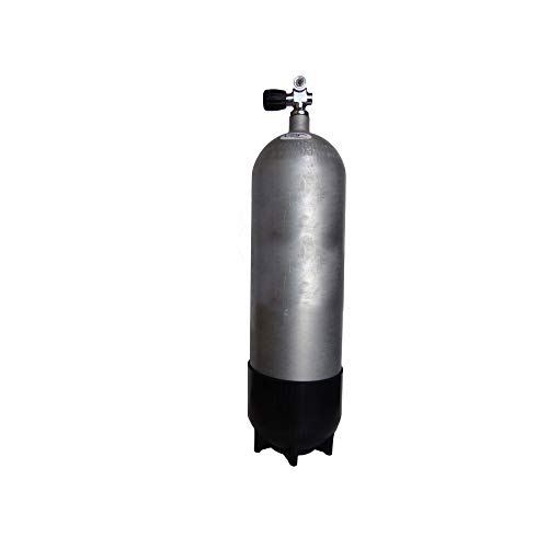 - Faber FXG Hot Dip Galvanized Steel Scuba Tank 3442 psi Cylinder (100 cu ft (12.9 liters))