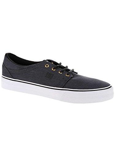 DC Shoes White Bajas para Gunmetal Trase TX SE Hombre Black Zapatillas Noir rrXqdwPx