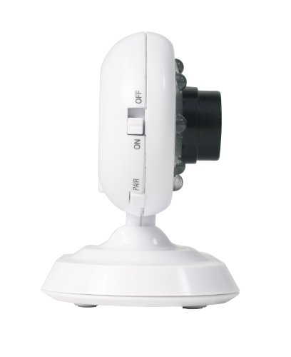 "Motorola MBP26 Wireless 2.4 GHz Video Baby Monitor with 2.4"" Color LCD Screen, Infrared Night Vision and Remote Camera Pan and Tilt"