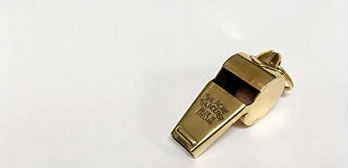 Acme Thunderer 60.5 Polished Brass Small (gold) Small Acme Whistles