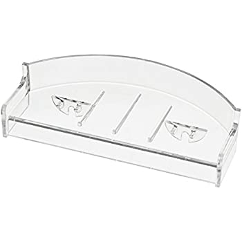 Franklin Brass EB1600 Removable Soap Tray, Clear