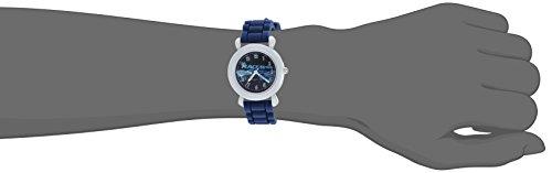 Disney Boy's 'Cars 3' Quartz Plastic and Silicone Casual Watch, Color:Blue (Model: WDS000454)