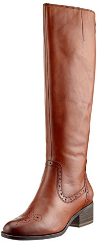 Brown Women's 305 25541 Boots 21 Cognac Tamaris High HwvBTWBq