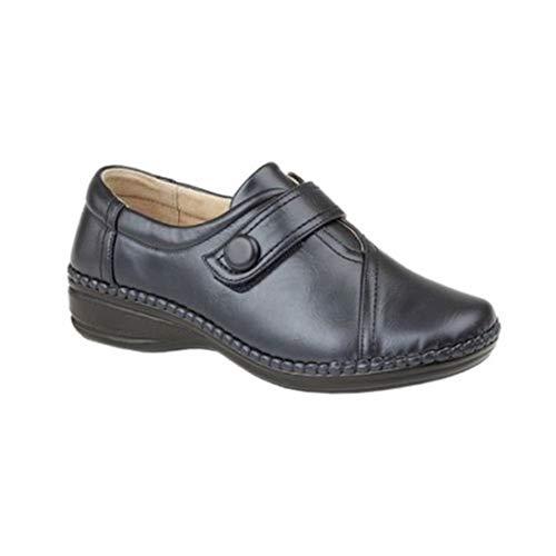 Ancho Para Boulevard Velcro con con Tira Mujer XXX de Negro Especial Zapatos zxzYR6