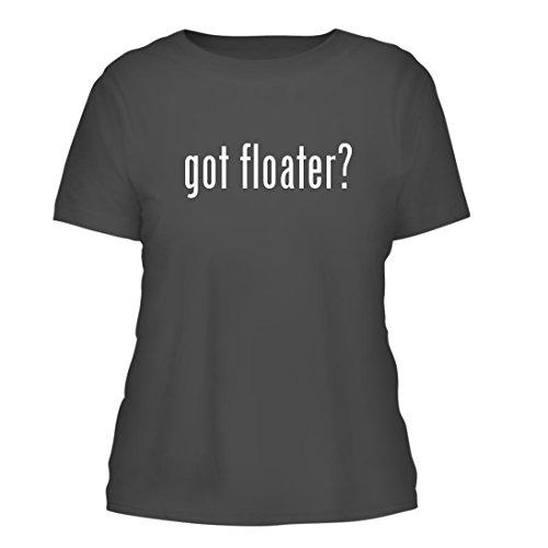 got floater? - A Nice Misses Cut Women's Short Sleeve T-Shirt, Grey, Large