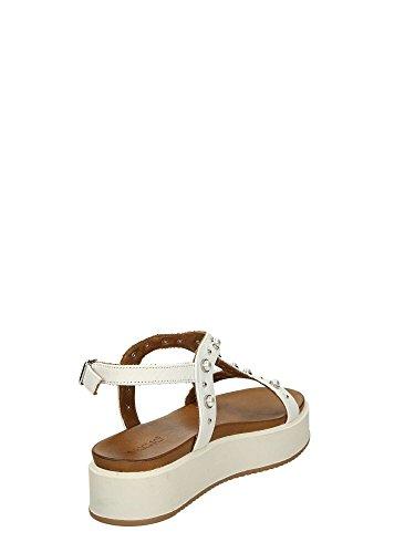Woman Sandals 8737 Inuovo 40 White E5qxzO
