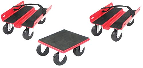 Extreme Max 5800.2000 Snowmobile Dolly System, 3 Pack