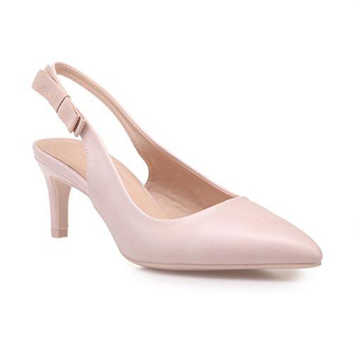 Vestir Zapatos 47510 Material La Mujer De Modeuse Sintético Beige AqIIv