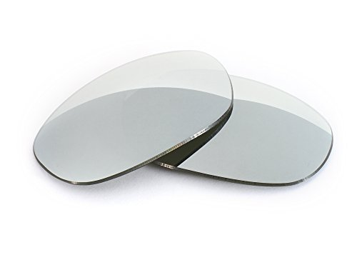 [FUSE Lenses for Oakley Grapevine Chrome Mirror Polarized Lenses] (Polarized Grapevine)