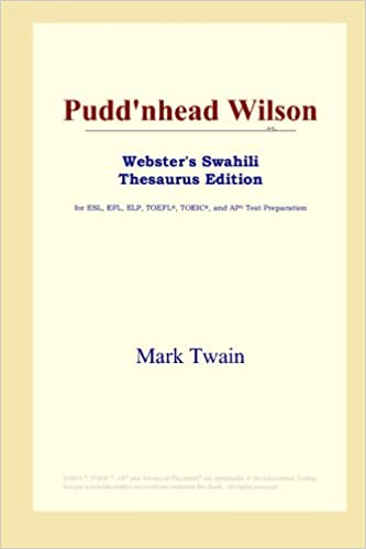 Puddnhead wilson websters thesaurus edition by mark twain puddnhead wilson websters thesaurus edition by mark twain fandeluxe Image collections